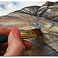 Peindre les rochers / painting rocks