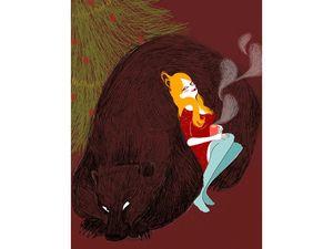 ours lucile gomez la fille horizontale