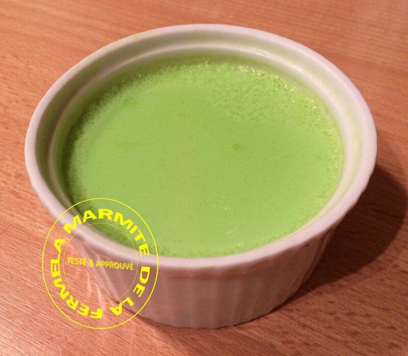 Flan très léger à l'agar agar (3)