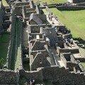 Le temple du soleil au Machu Picchu