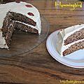 Gâteau colibri (hummingbird cake) / торт колибри