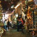 4- le souk de Marrakech, immense