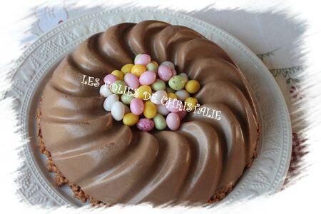 Bavarois chocolat de Pâques