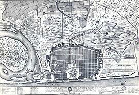 Plan_de_Pondichery Dupleix