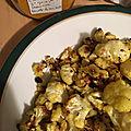 Chou fleur rôti au four ou comment faire manger de ce légume à des enfants réticents.