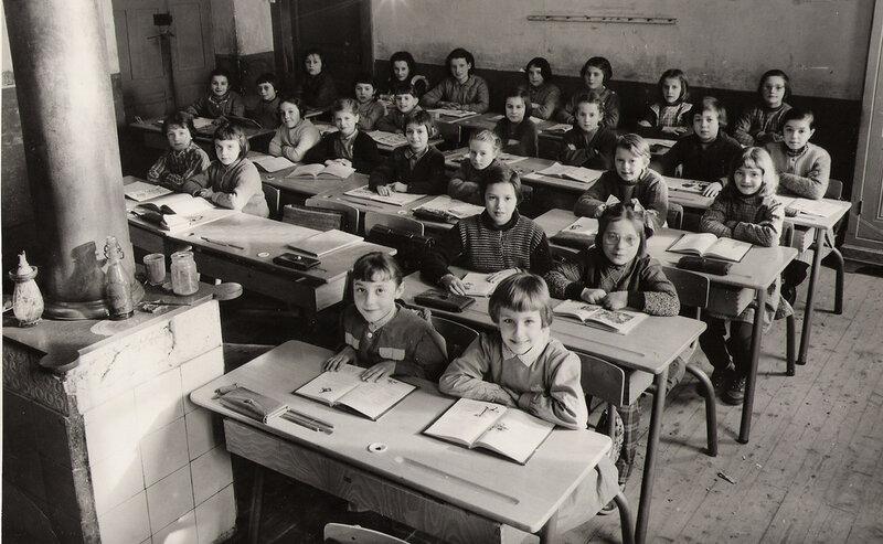 ORGELET 1958-1959 Ecole de filles
