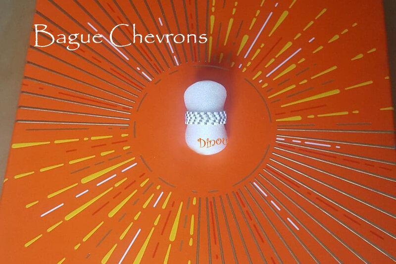 Bague Chevrons