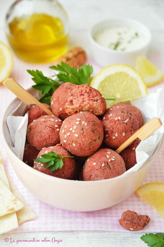 falafels poix chiches et betterave vegan sans gluten (1)