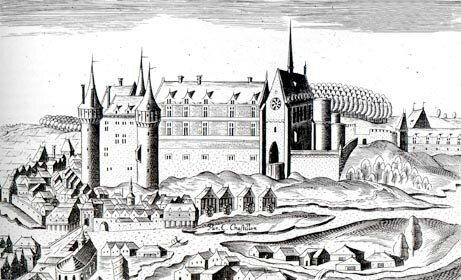 lapalisse_chateau_gravure Claude Chastillon