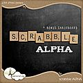 Scrabble alpha by click photo designs lien