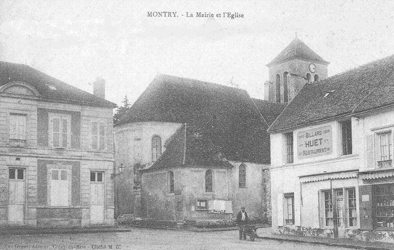 L'église (entière !) en 1900