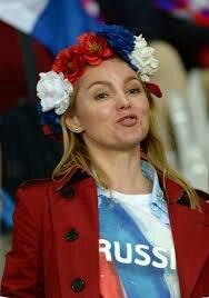supportrice russie