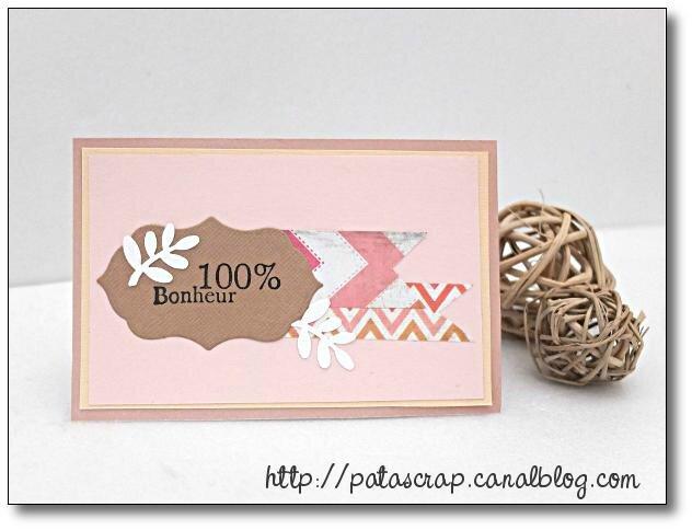 carte 100% bonheur