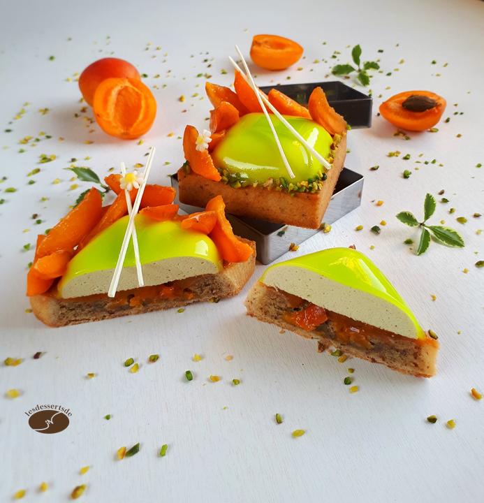 Tartelette pistache abricot 2