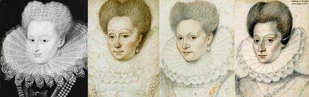 Portraits de 1595-1599 environ