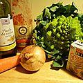 20 minutes pour une soupe romanesco et ses coupines