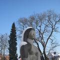Le parc hiard à haine-saint-pierre en hiver
