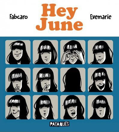 Hey June couverture