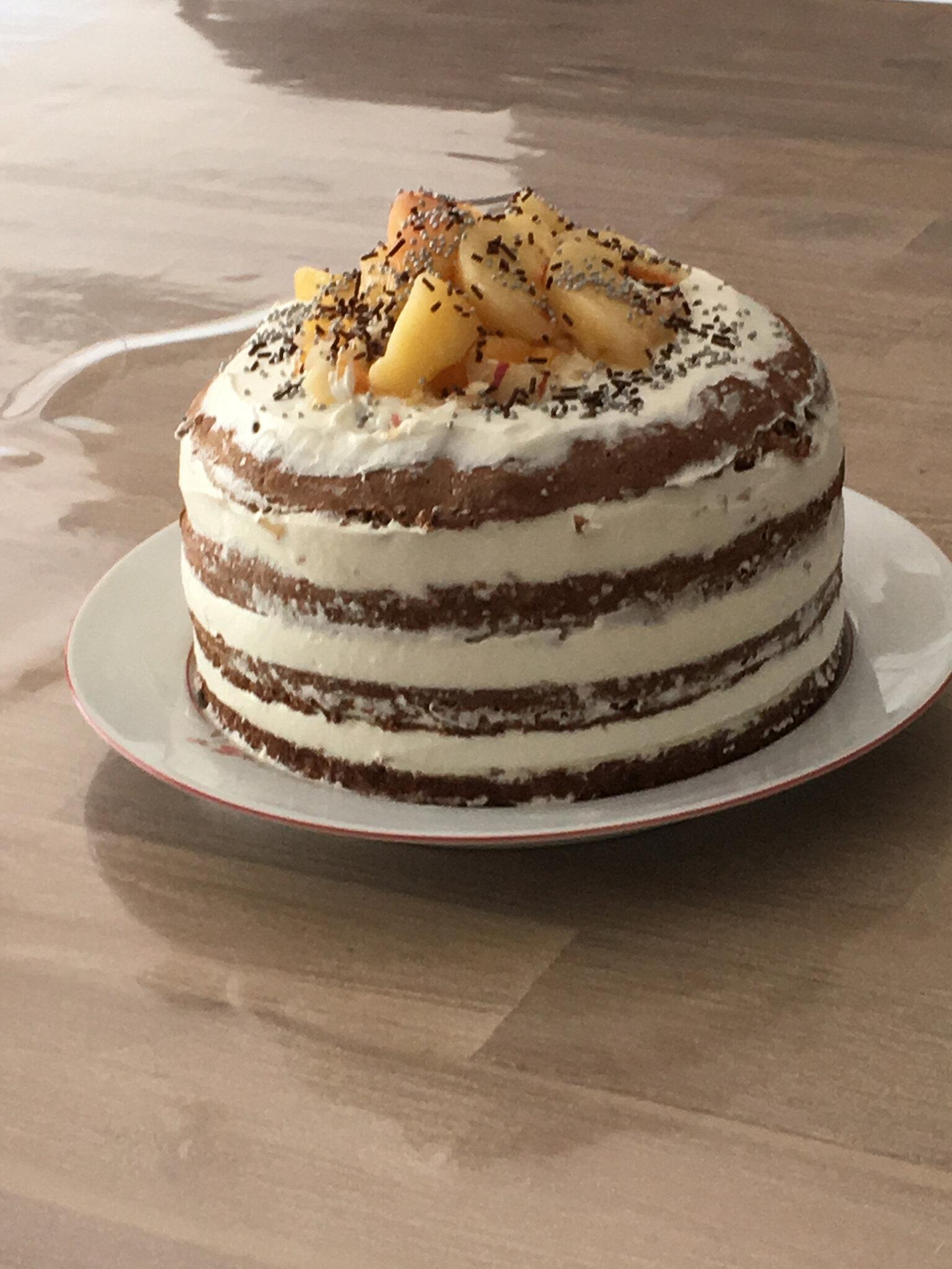 Nuked cake