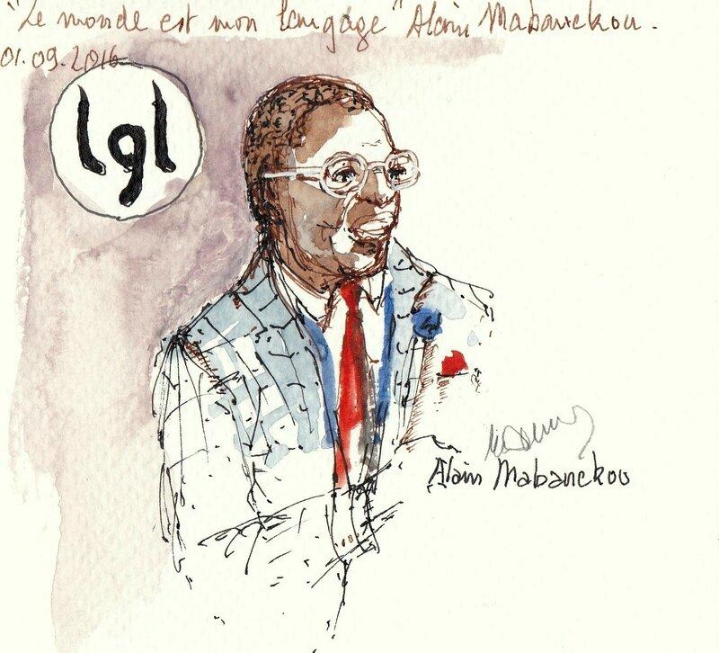 La grande Librairie Alain Mabanckou