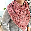 Copper pennies shawl