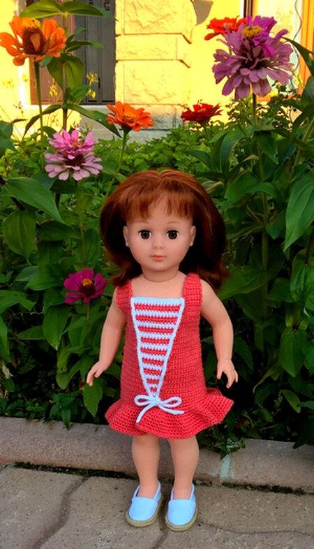 2018070 Polly avec sa robe de juillet