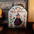 Une petite sorcière pour halloween