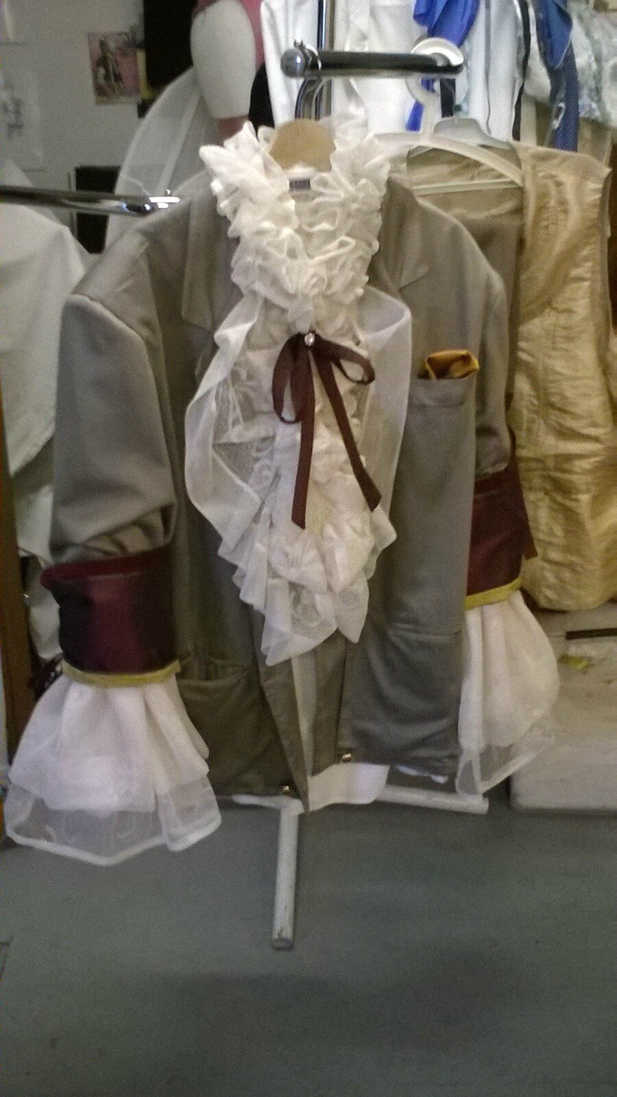 création costumes georges super