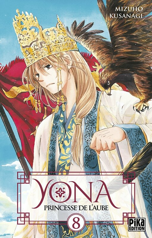 Yona, princesse de l'aube, tome 08, Mizuho Kusanagi Pika