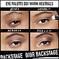 dior backstage eye palette warm neutrals 2