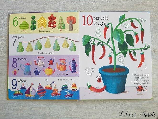 livre maternelle apprentissage compte jusqua 100 usborne