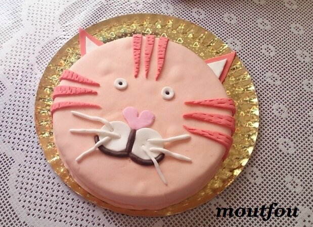 gateau chat
