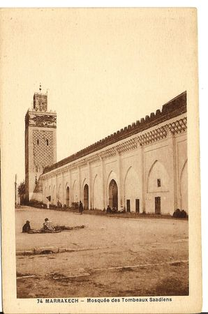 1371___74_MARRAKECH_Mosque_e_des_Tombiens_Saadiens_Roudnev