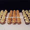 Assortiment mini cupcakes