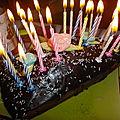 Gâteau maison des 24 ans (& rosé)