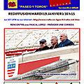 Paseo y toros - rediffusion mardi 19 01 2021