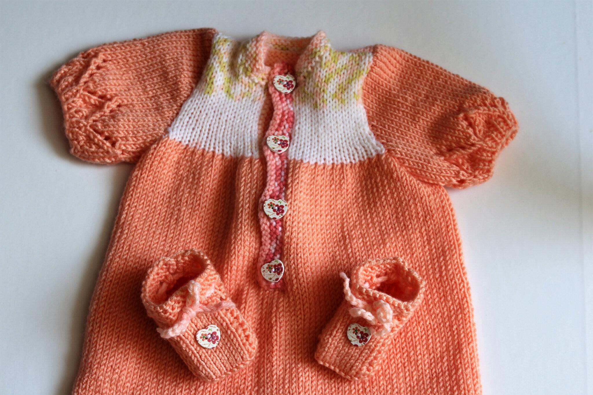 combinaison (overall) pour poupée ou bébé