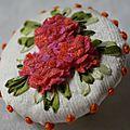 broche hortensias