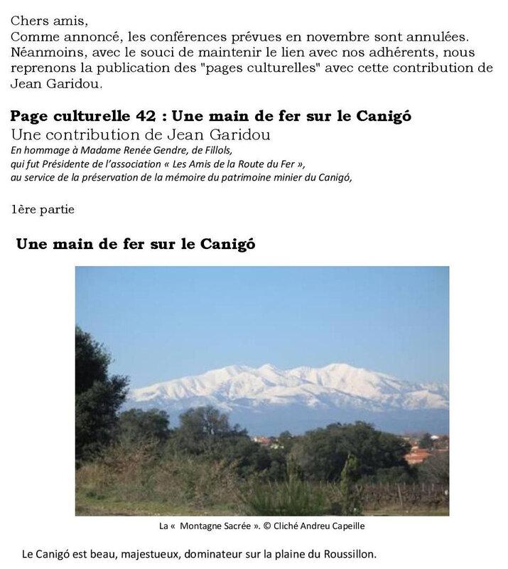 Page culturelle 42 Une main de fer sur le Canigó-page-001