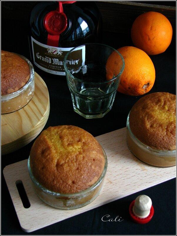 Petits Cakes à l'Orange Façon Baba au Grand Marnier 002