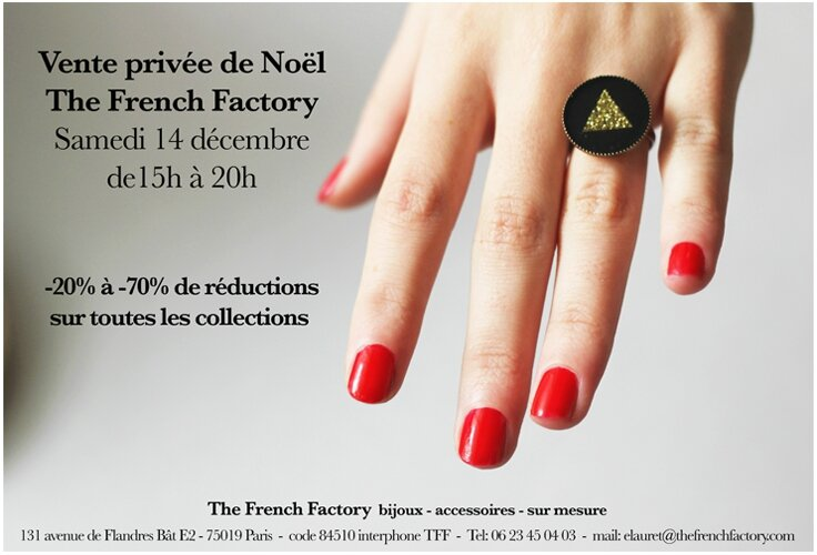 Vente privee French Factory