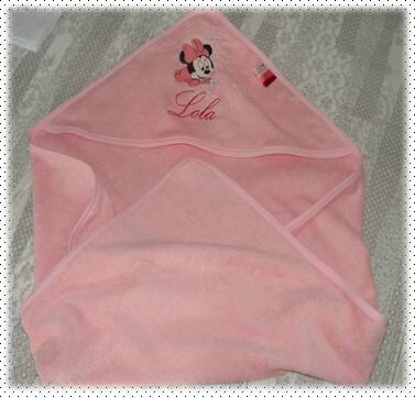 Cape de bain MINNIE