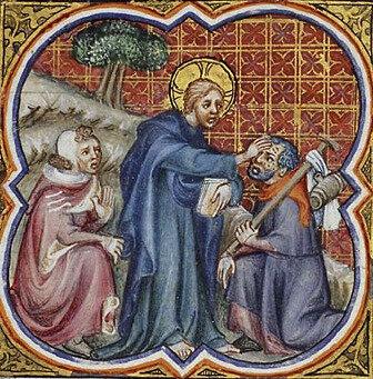 purification du lépreux, P Comestor Bible historiale