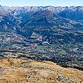 009 Embrun depuis le Mont Guillaume