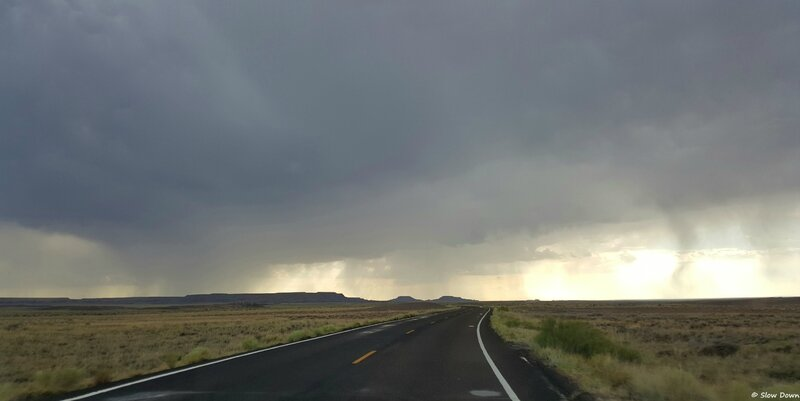 Painted Desert road