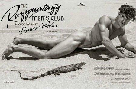 Le Razzmatazz Men's Club par Bruce Weber