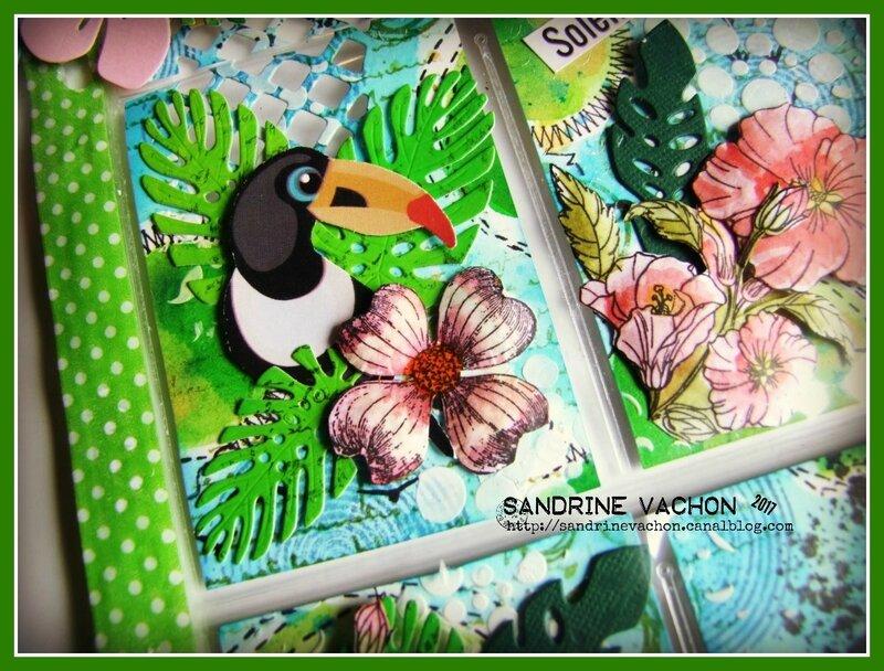 Sandrine VACHON Pocket letter REVE DE VACANCES (8)