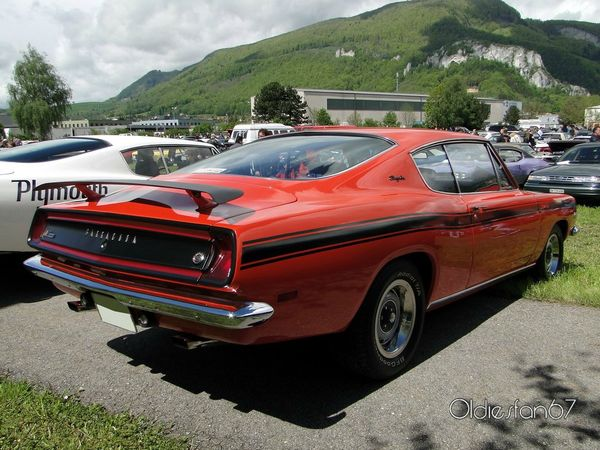 Plymouth Barracuda 340 Formula S fastback coupe 1969 d