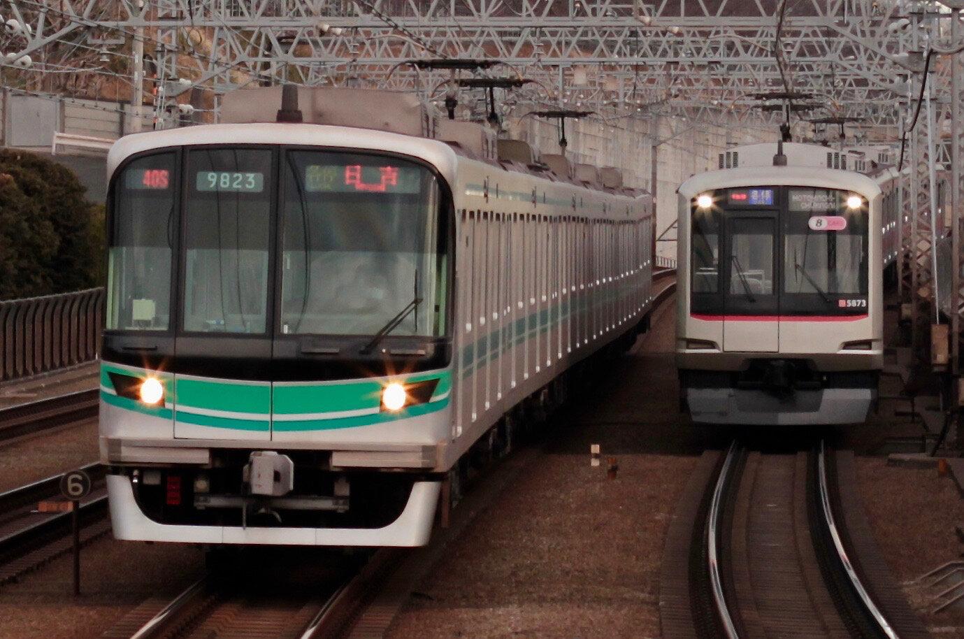 9000系 Nanboku line