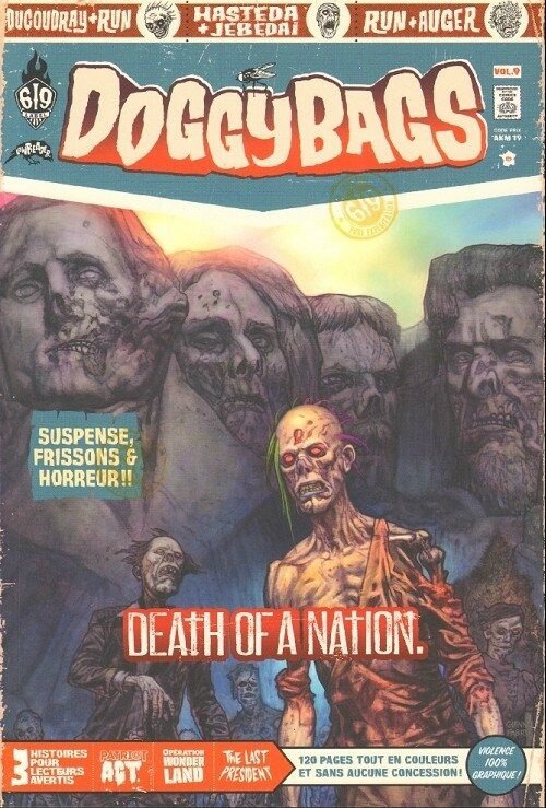 ankama doggybags 09 death of a nation